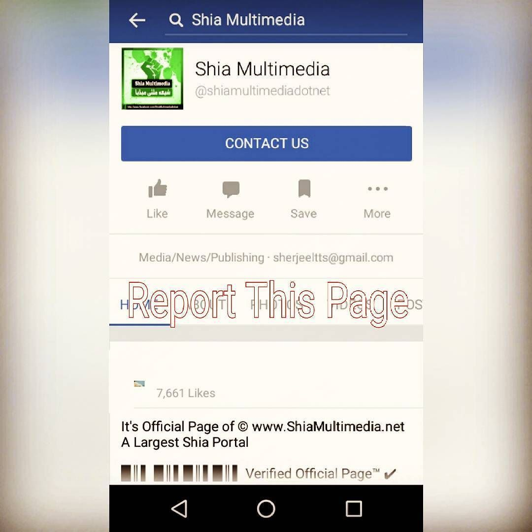 All Momneen Report This Facebook Page  Shia Multimedia Page Link Is   http://ift.tt/2bvpX7D