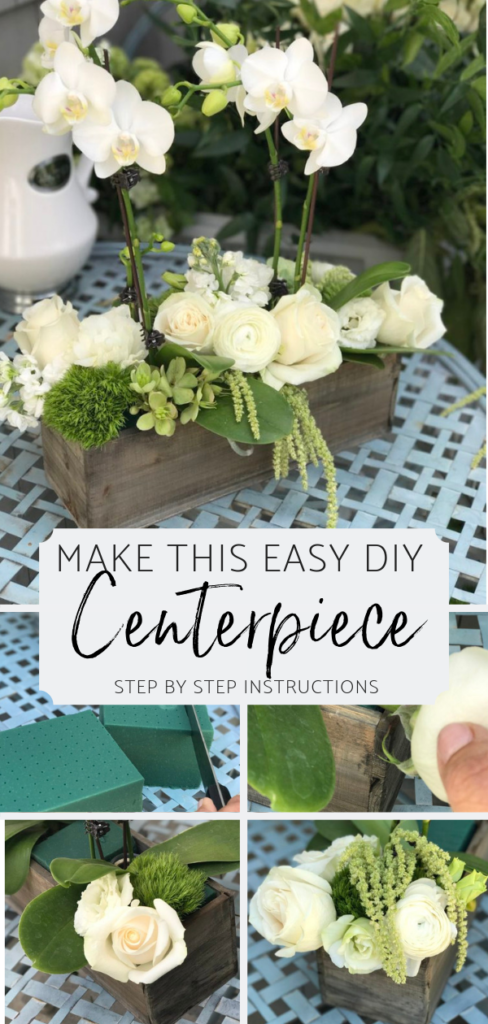 Marvelous Diy Centerpiece With Step By Step Instructions All Home Home Interior And Landscaping Transignezvosmurscom
