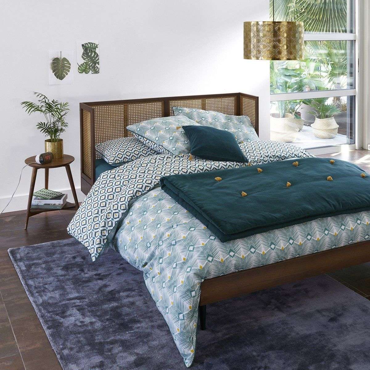 Noya Vintage Bed with Base Vintage bed, Interior design