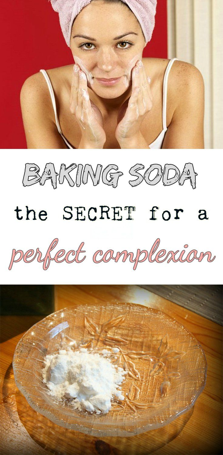Baking soda - The secret to a perfect complexion  Simply