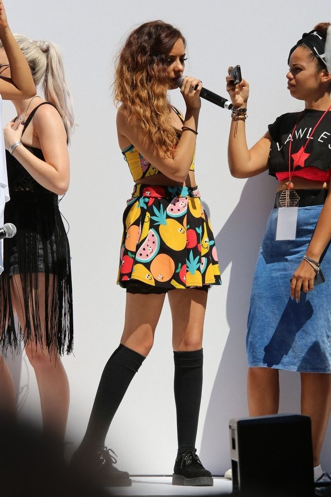 Little Mix on 9 August 2013 at Teen Vogue Event Back To School in LA
