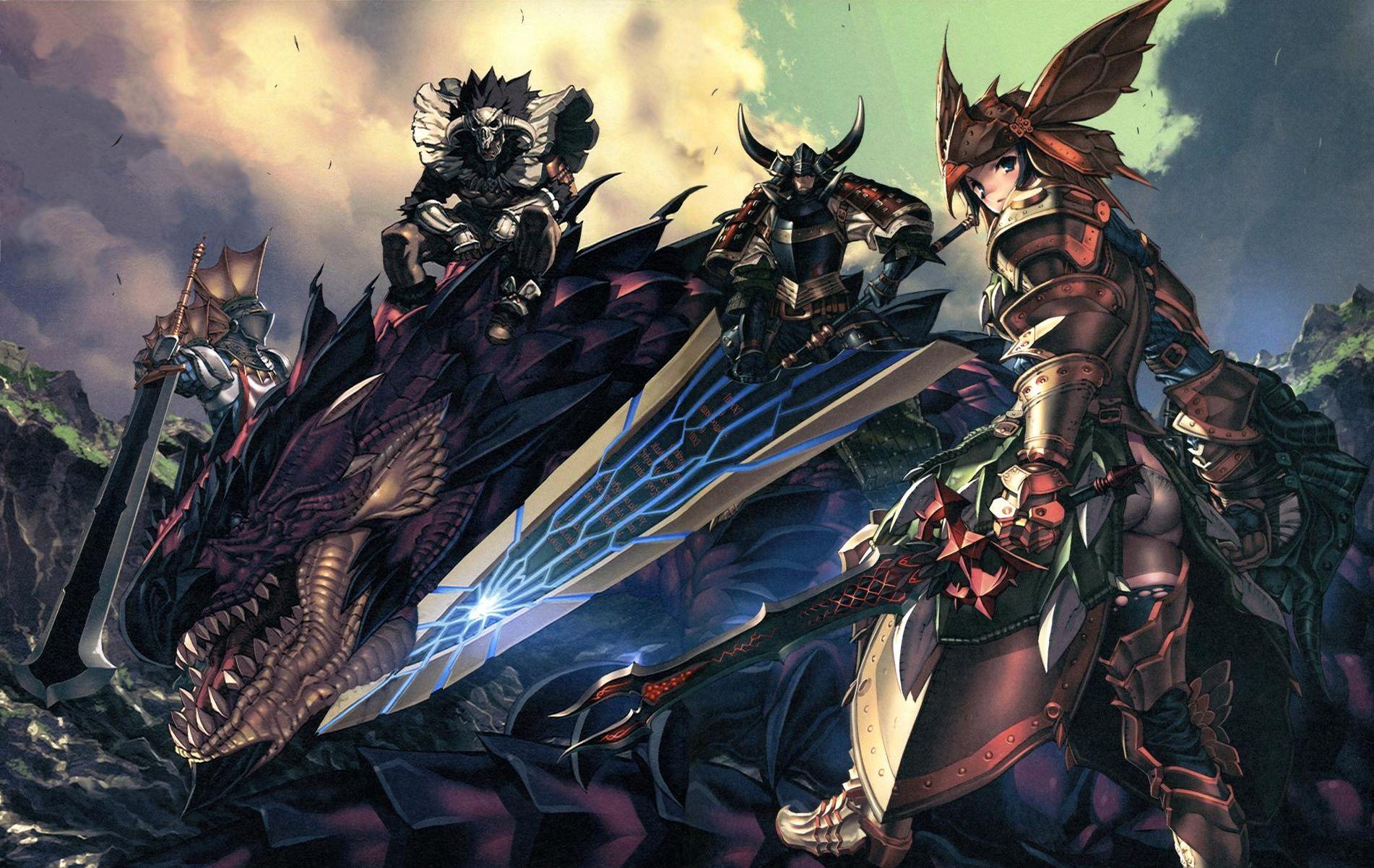 Monster Hunter Anime Wallpaper 1902x1202 34524 Wallpaperup