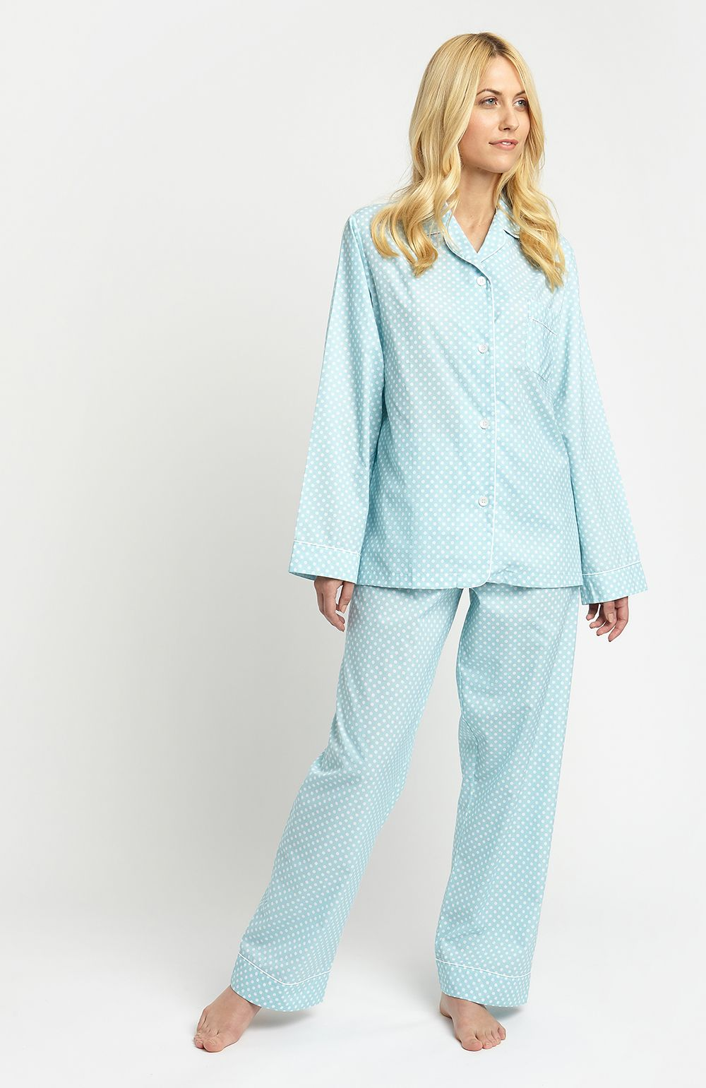 731b65793c Preview of the new luxury Spring Summer nightwear collection perfect for  spring days lounging around the home.
