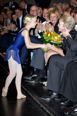 14 March 2014 - Princess Beatrix attends aperformance of Royaal Talent for Princess Beatrix