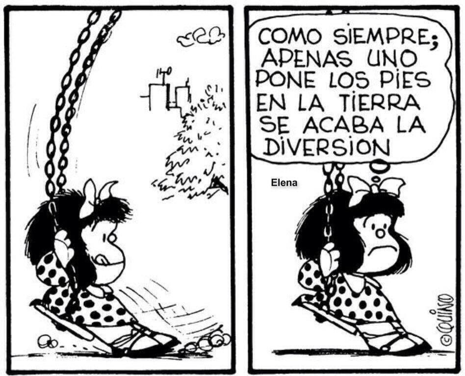 Mafalda con los pies en la Tierra   frases lindas   Pinterest ...