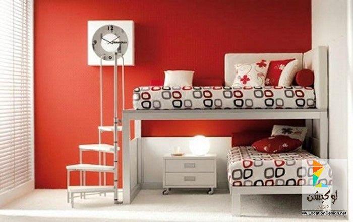 ألوان دهانات غرف نوم بنات كبار بتصميمات روعه لوكشين ديزين نت Kids Bedroom Inspiration Kids Room Design Kids Rooms Shared