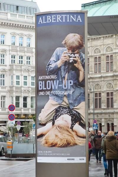 L'interessante mostra su Antonioni e Blow-Up all'Albertina di Vienna fino al 17 agosto 2014.