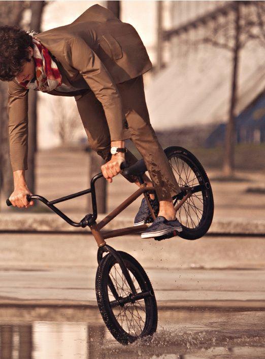 Matthias Dandois, un chic type en BMX | Bicicleta, Velos y Sencillo