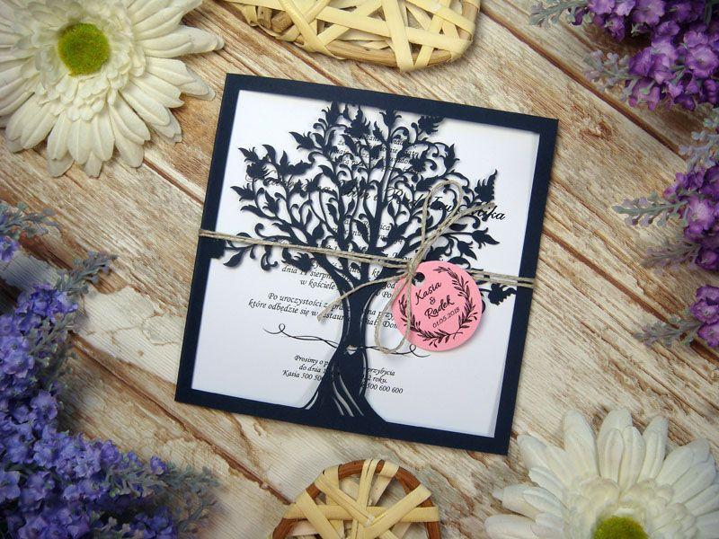 Zaproszenia Z Kolekcji Drzewo Zakochanych Wzor 18 Zaproszenia Slubne Laserowe Drewniane Dodatki I Dekoracje Home Decor Frame Decor