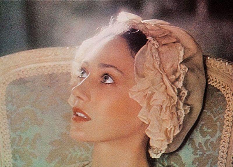 "Marisa Berenson en ""Barry Lindon"", 1975"