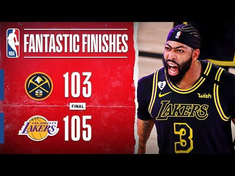 Lakers Take 2-0 Series Lead Off AD's Game-Winning Triple‼ - YouTube