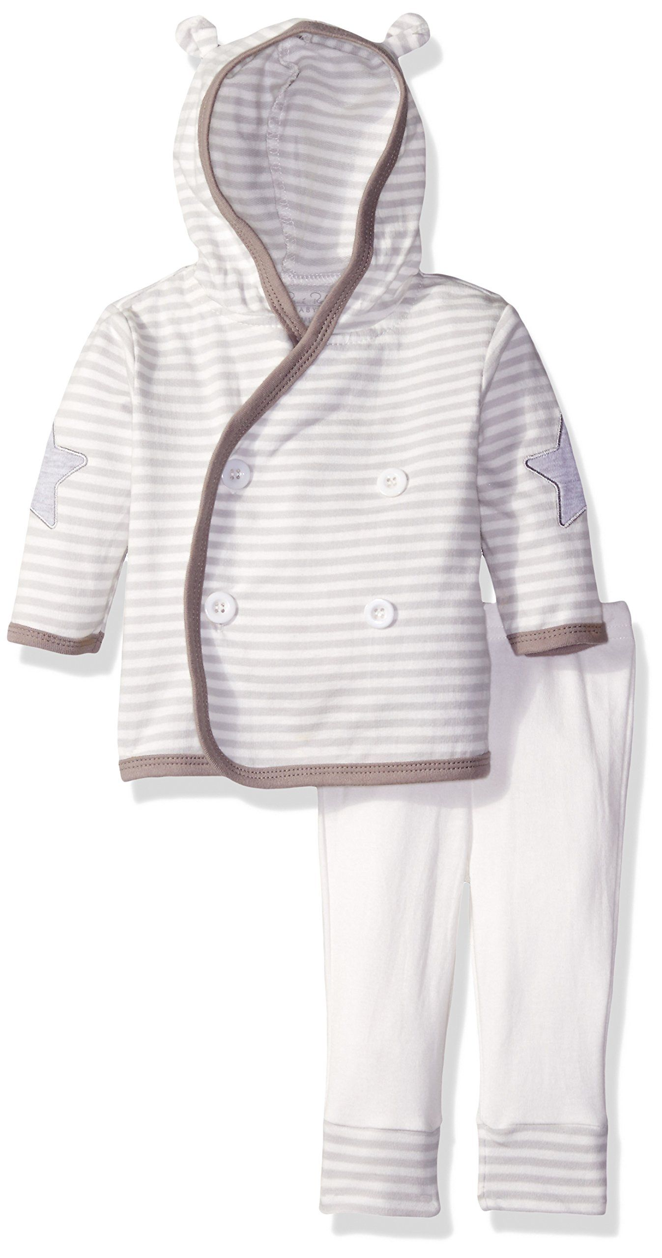 Rene Rofe Baby Dreams 2 Piece Hooded Cardigan and Pant Set Sweet