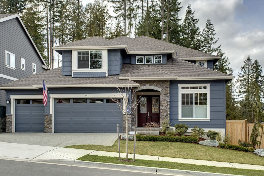 Dg13 bayshore b home floorplan in sammamish washington - Sherwin williams exterior colors ...
