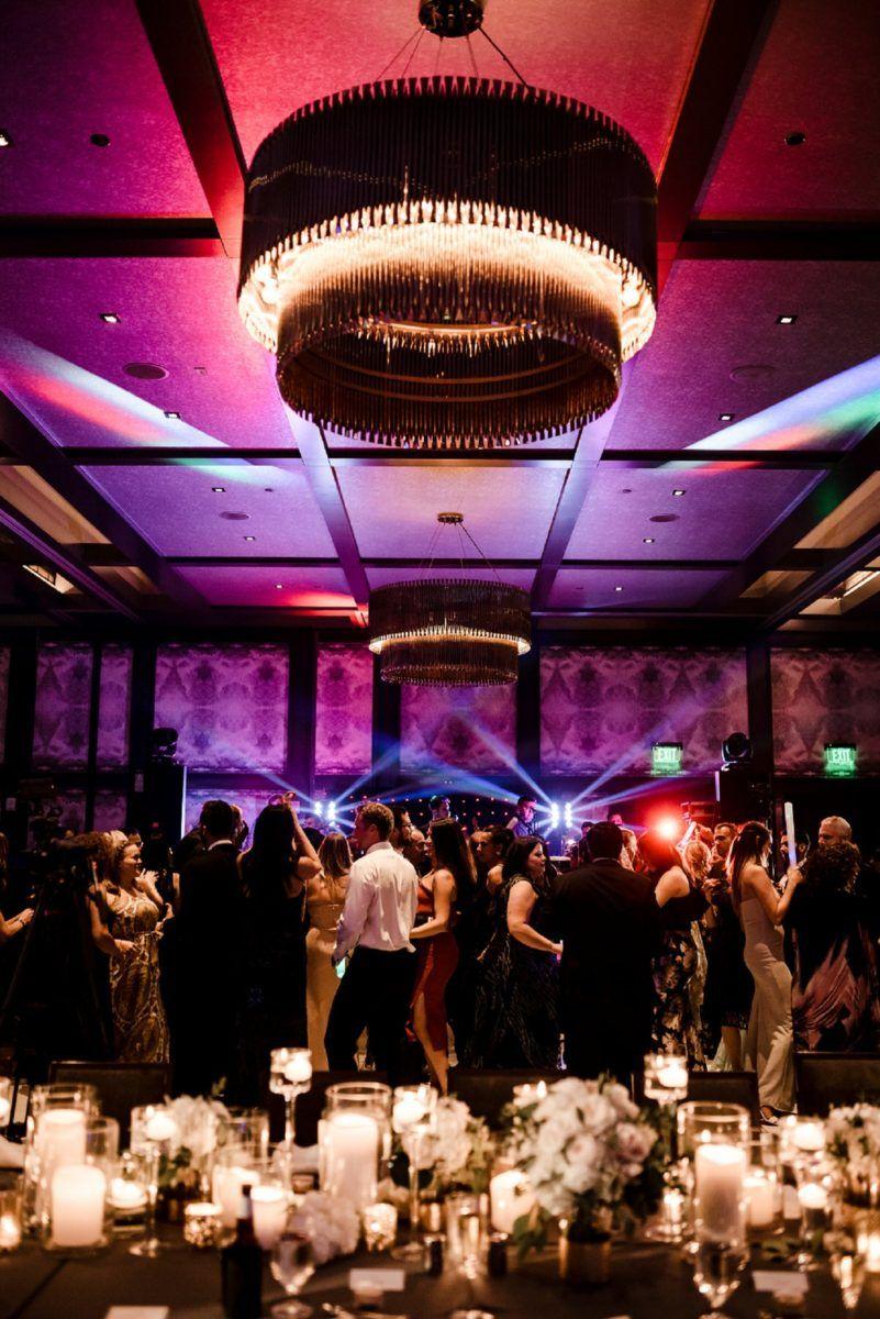 Hotel Van Zandt Austin Wedding Live Band Reception Party Shot
