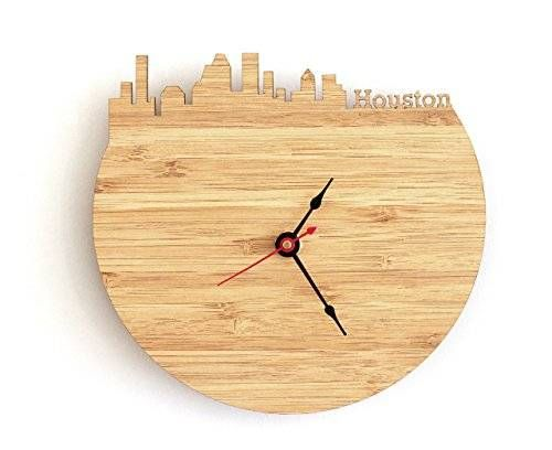 Houston Skyline Clock, $44.99