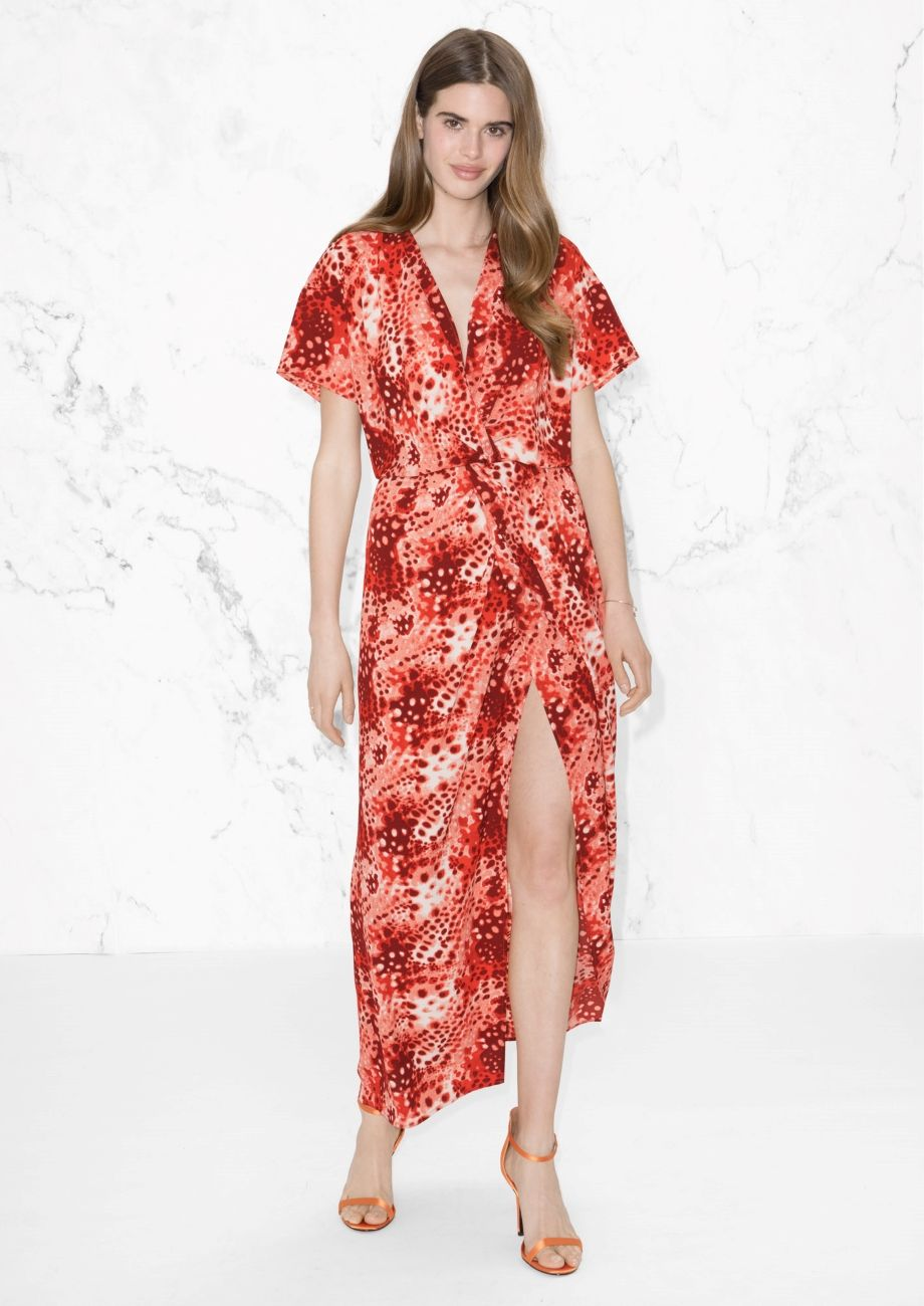 Wrap dress print wrap dresses wraps and printing