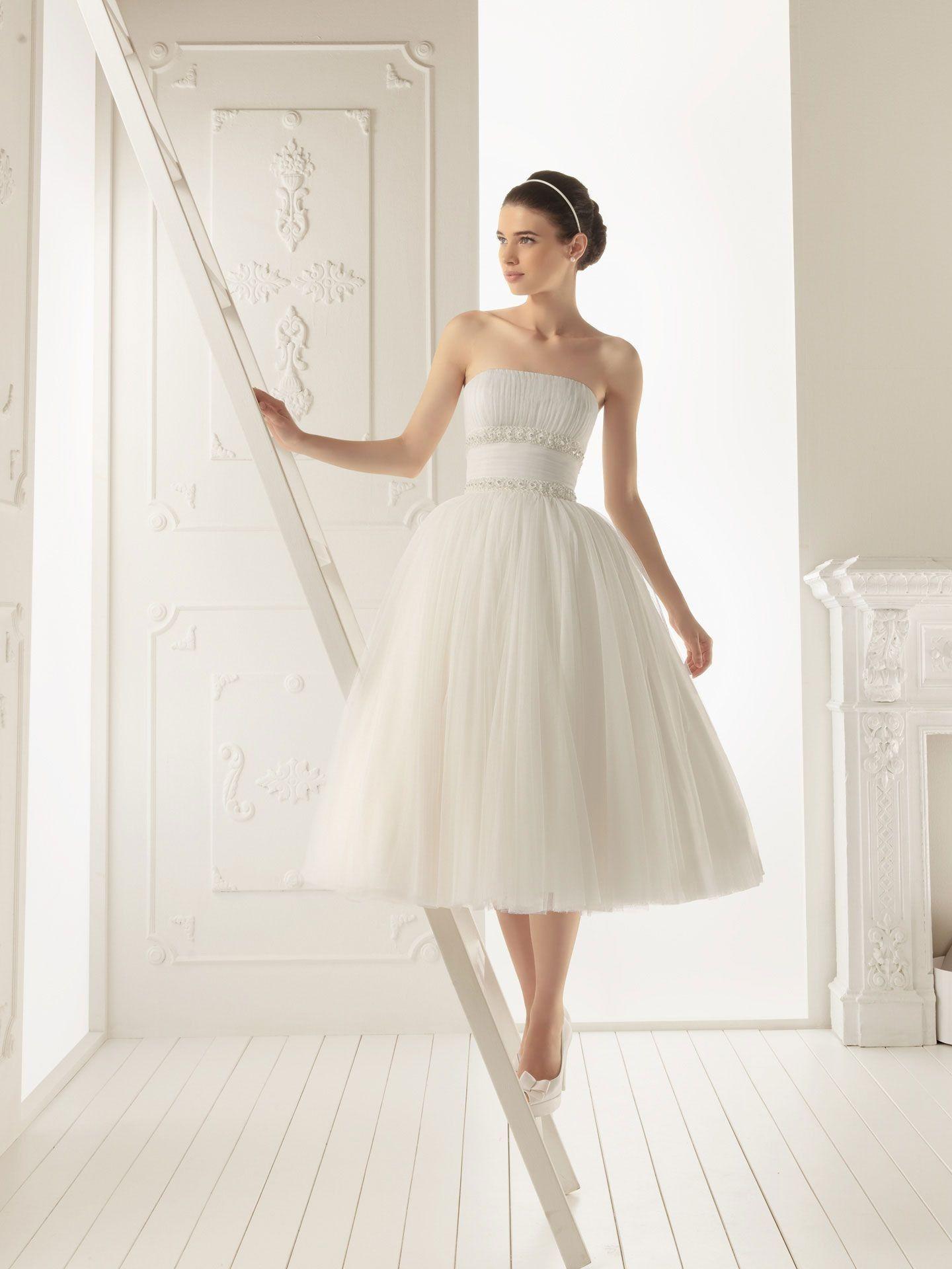 Tulle whyte weddings pinterest wedding dress tulle tea length