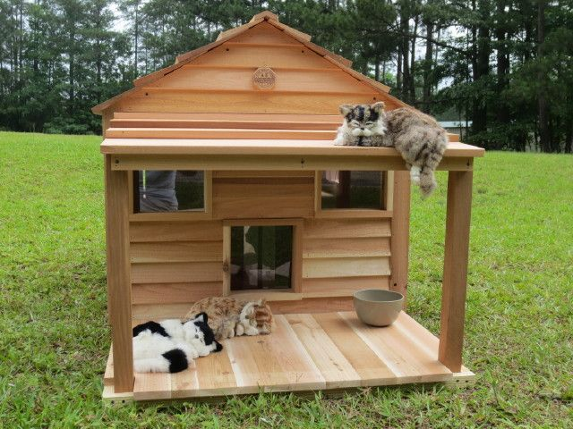 Strong Font Size 1 Font Color Ff0099 Click Any Image On This Page For Larger View Font Font Outdoor Cat House Cat House Diy Outside Cat House