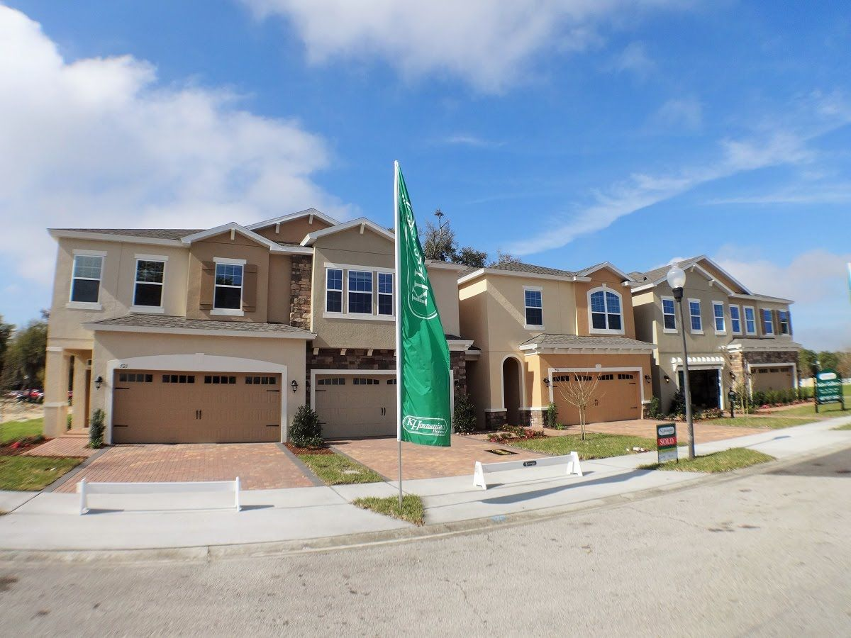 Elegant Walkers Grove By K Hovnanian Homes   Winter Garden New Townhomes