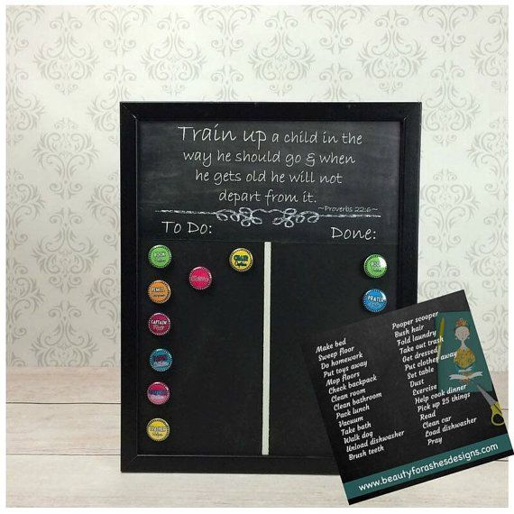 Job Charts Magnetic Chalkboards C Chart Clroom Home Preschool Fun