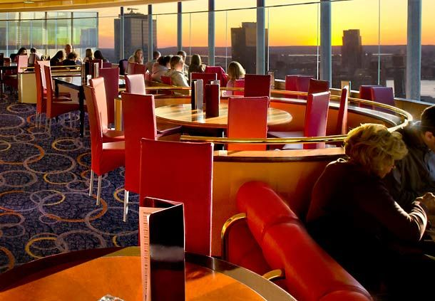 Marriott Marquis New York The View Lounge