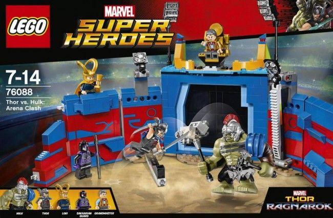 CastelloJeux Et Thor Contre LegoSuper Hulk Jouets Heroes bgvY6If7my