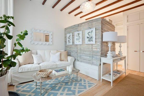 einzimmerwohnung offene deckenbalken und gro e trommel. Black Bedroom Furniture Sets. Home Design Ideas