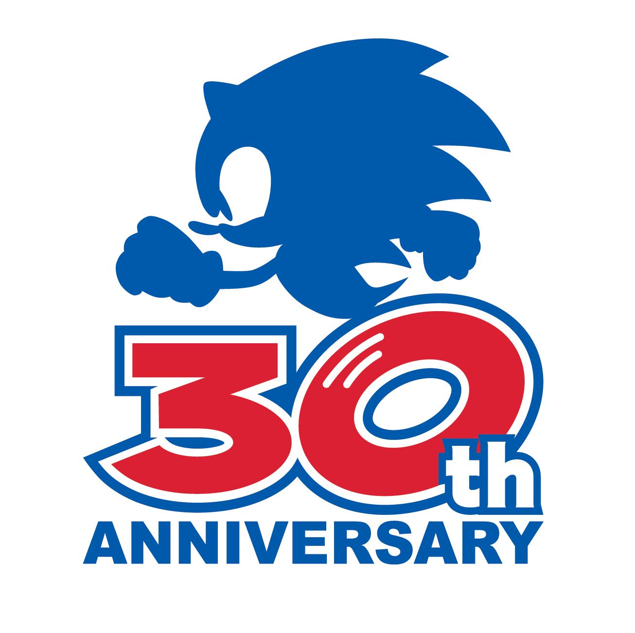 Sega S Sonic 30th Anniversary Logo Sonic Sonic The Movie Sonic And Shadow