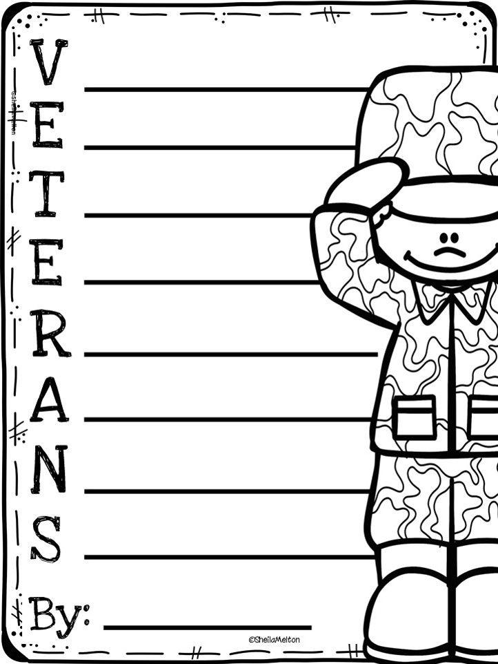 Veterans Day Freebie Veterans Day Activities Veterans Day Poem Third Grade Writing