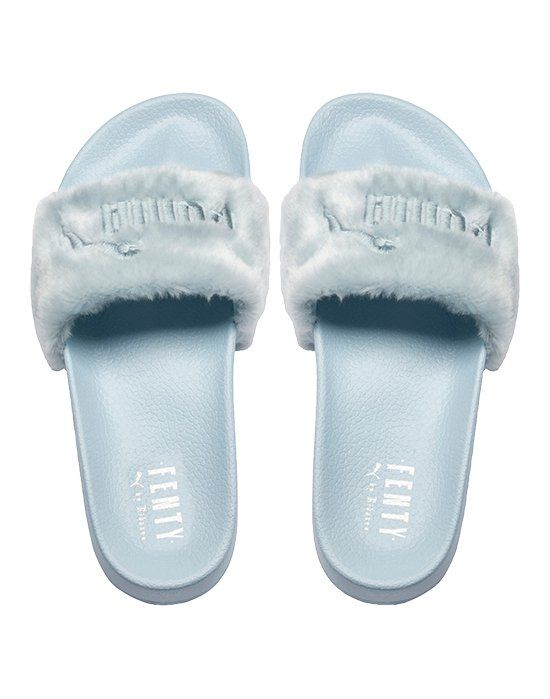 outlet store fd85c ca7a9 Puma Womens Fur Slide | Shoes in 2019 | Fenty fur slides ...