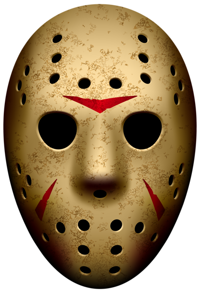 Jason Mask Friday The 13th Png Clip Art Image Jason Mask Jason Halloween Mask Jason Voorhees Art