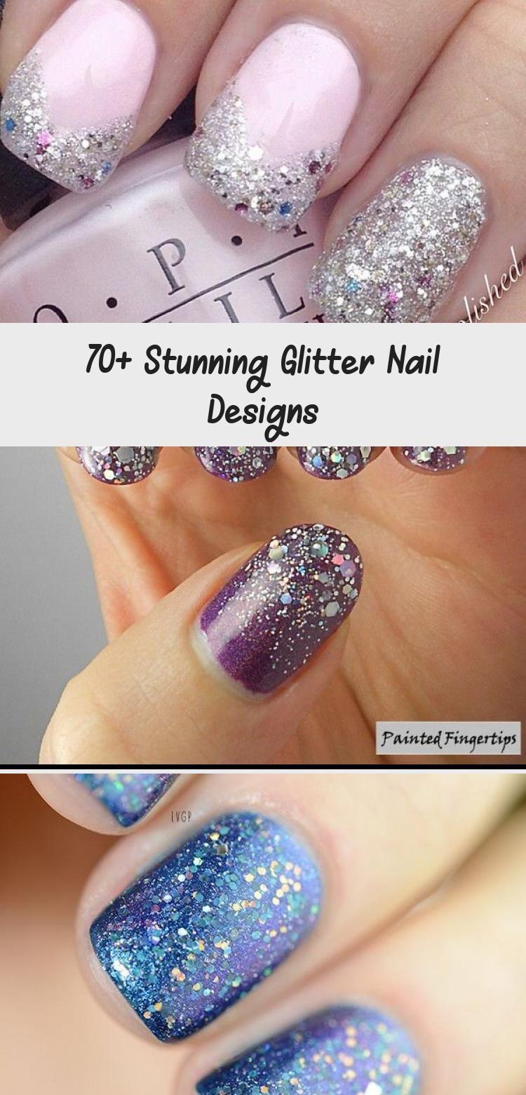 Photo of 70+ Stunning Glitter Nail Designs – Beauty