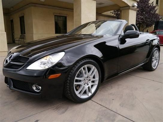 2009 Mercedes Benz Slk300 Higher Milage Than You Wanted But