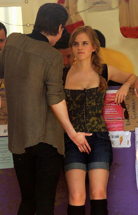 Emma Watson fingered fanart sorry, that