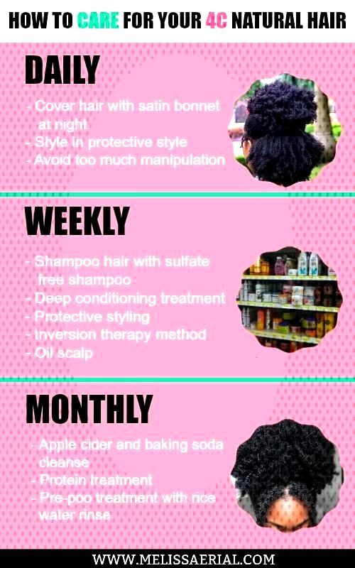 How to care for your 4C hair can be challenging but it doesnt have to be. Click here to get the ho