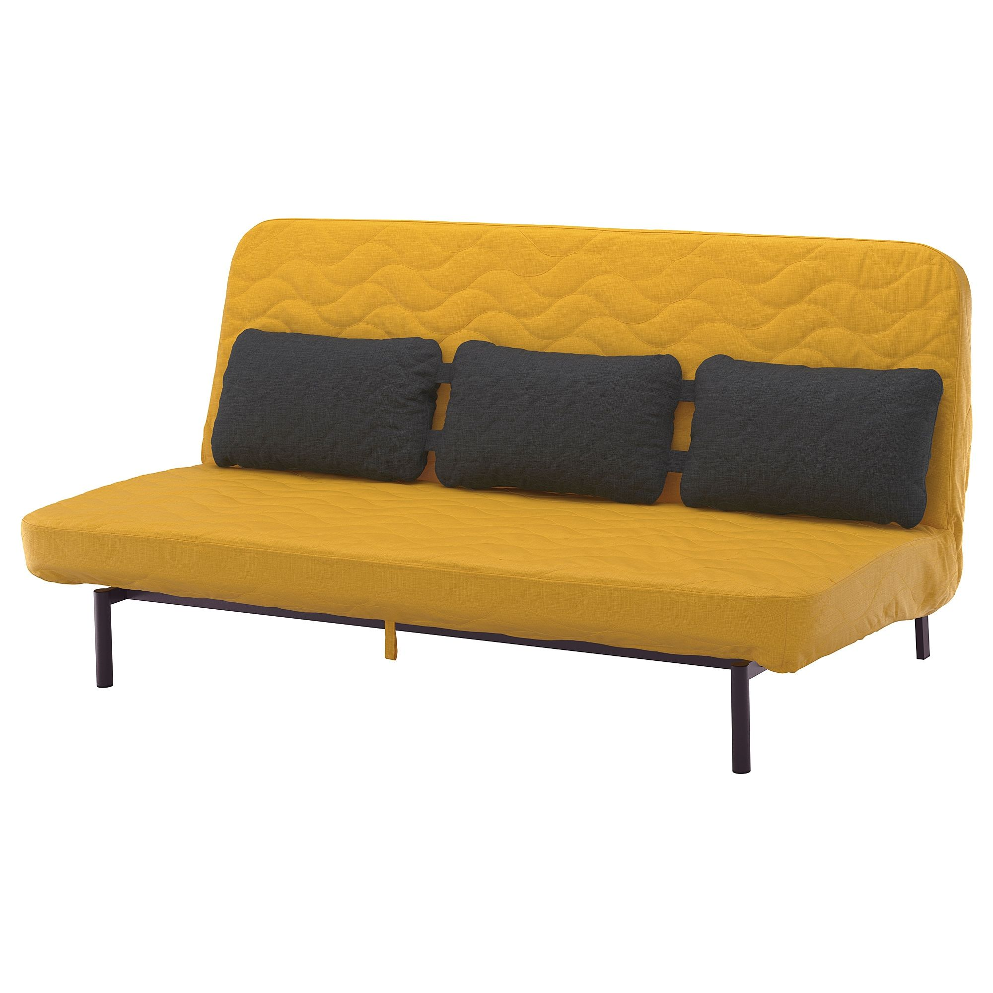 Nyhamn Sleeper Sofa With Triple Cushion With Pocket Spring