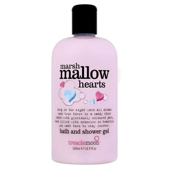 Treaclemoon Candy Jar Marshmallow Bath Shower Gel 500ml Shower