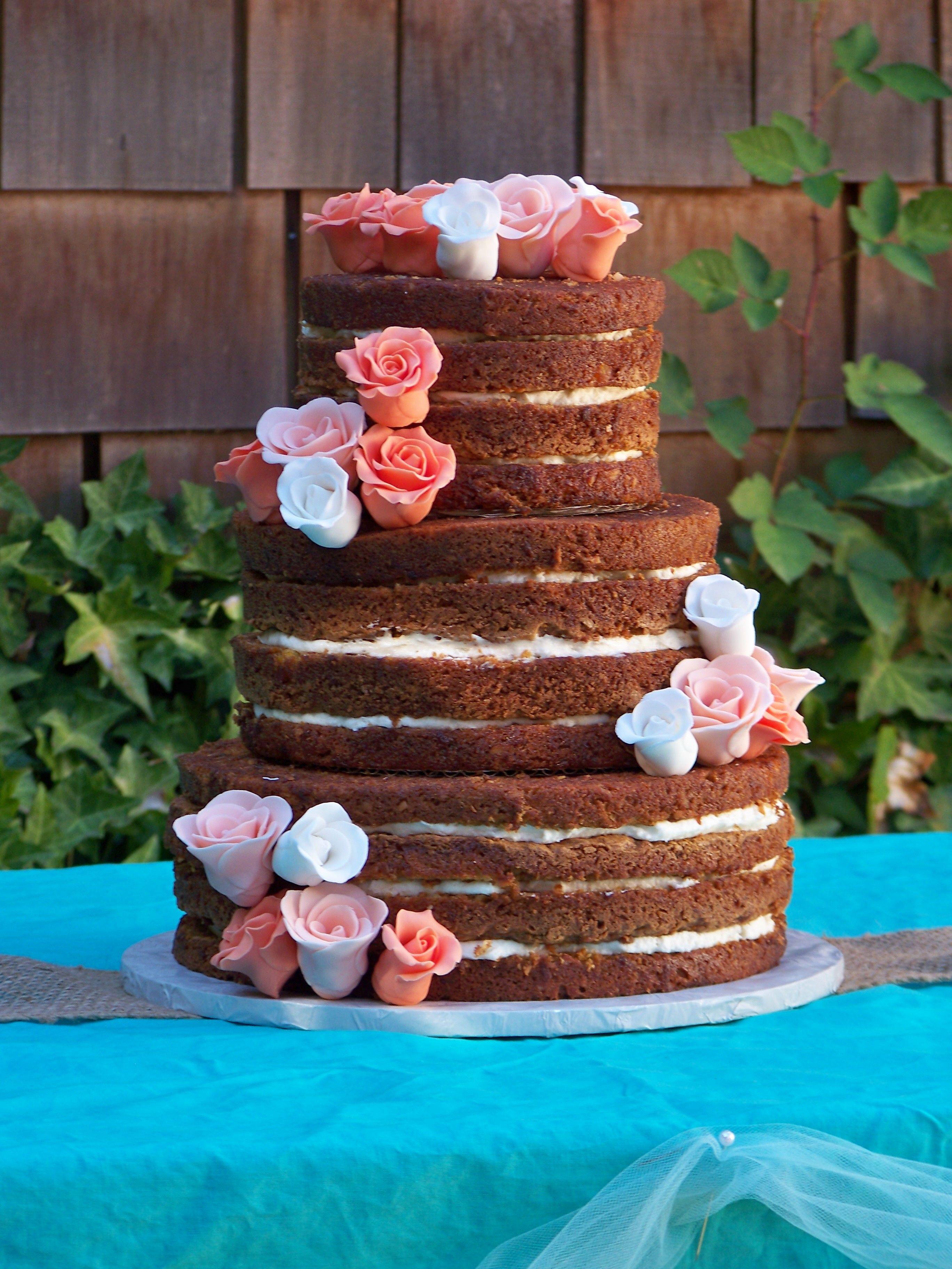 Naked & Semi Naked Wedding Cakes - Kelly Lou Cakes
