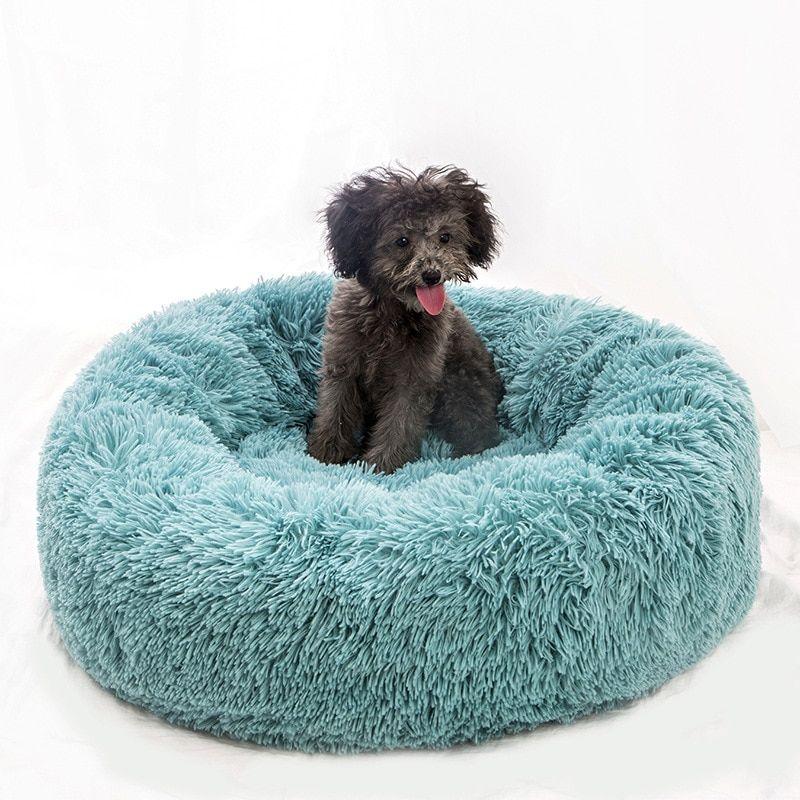 Britedoggie Comfy Faux Fur Pet Bed Dog Pet Beds Faux Fur Pet Bed Dog Bed