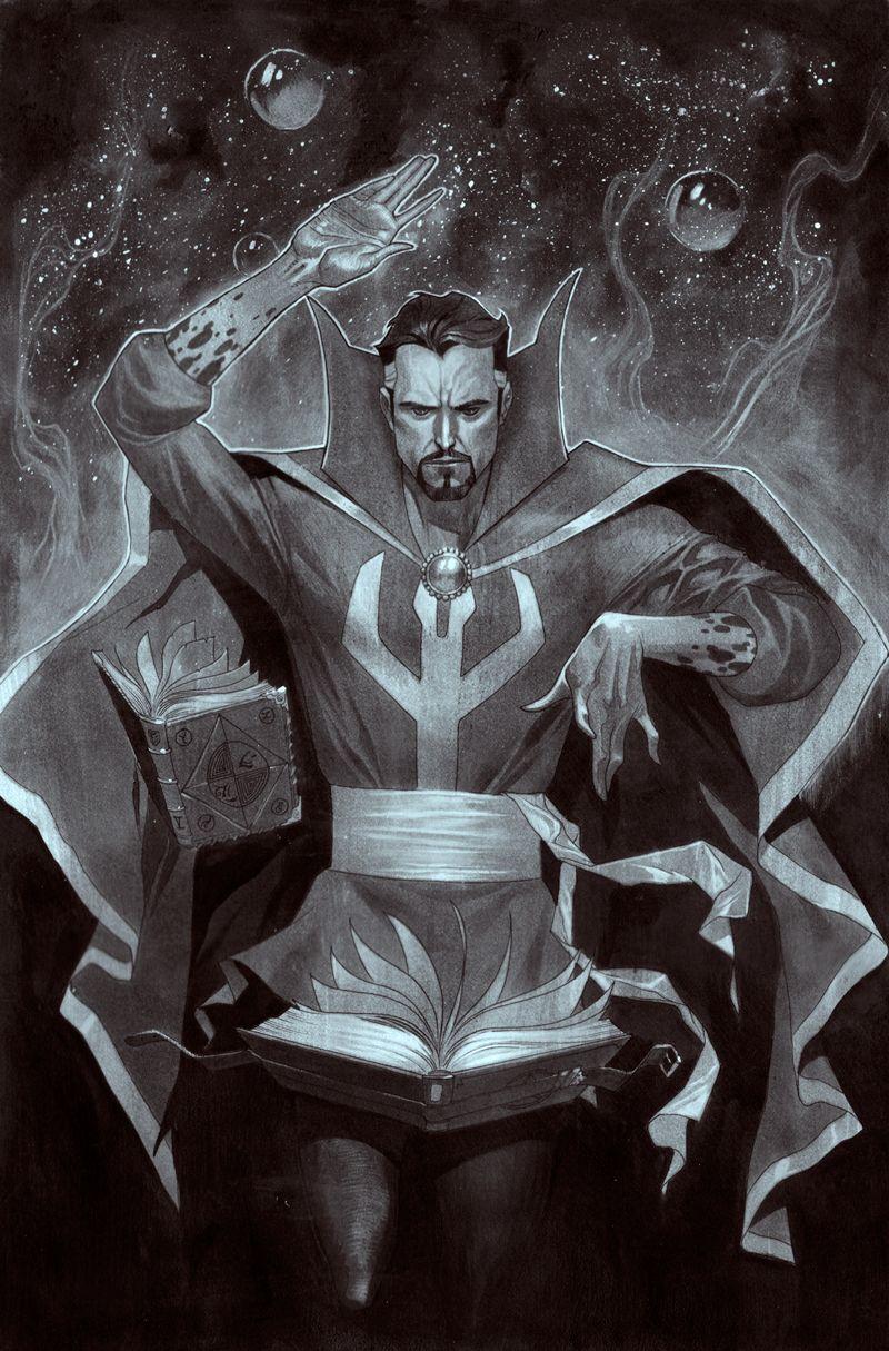 Dr. Strange Commission by ZurdoM.deviantart.com on @DeviantArt