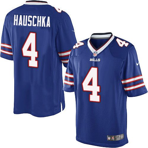 Youth Nike Buffalo Bills #4 Stephen Hauschka Limited Royal Blue ...