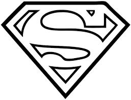 image result for superhero symbols black and white super heros rh pinterest com superman logo stencil free superman logo cake stencil