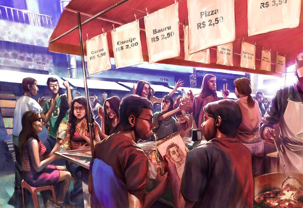 Dia de Feira by *wandger on deviantART