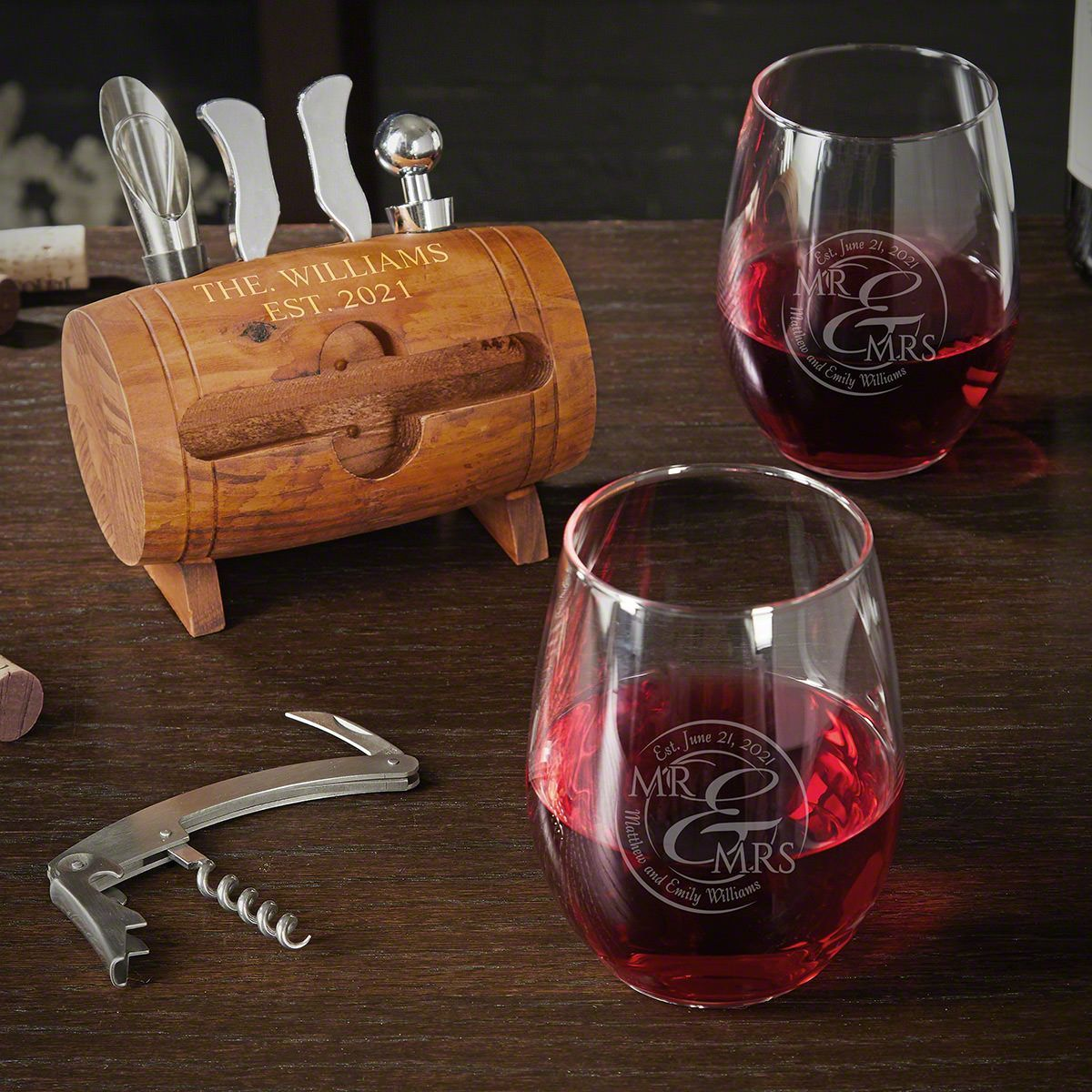 Best Wine Openers 2021 This stunning wine gift set is the perfect gift for any couple