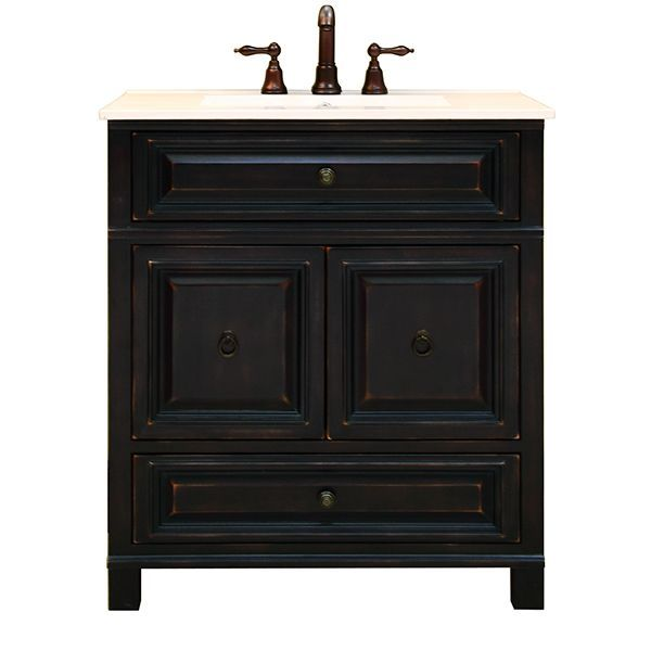 Bathroom Vanities Transitional Vanities Sunnywood Bh3021d 30 Barton Hill Traditional Bathroom Vanity