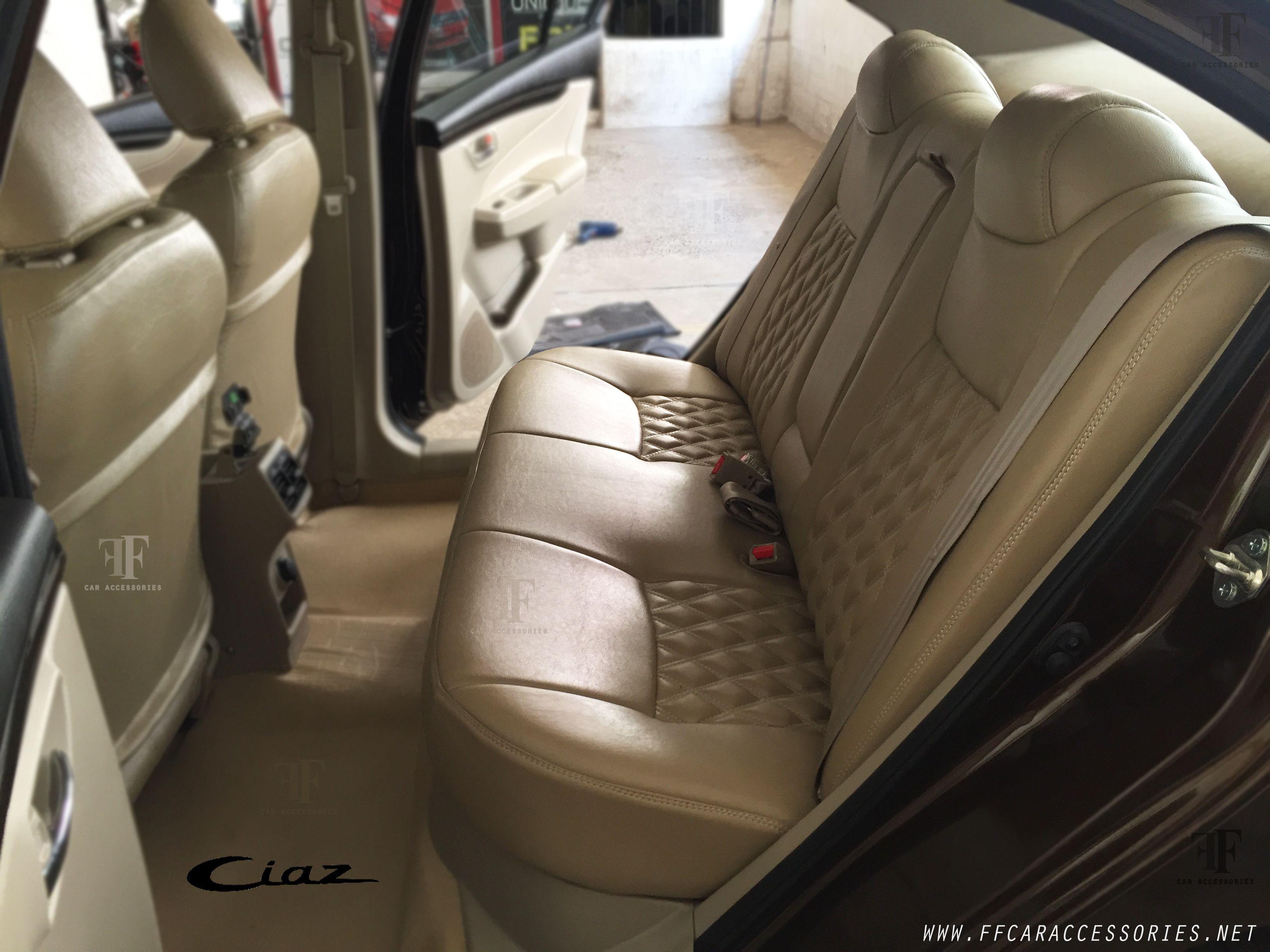 Rear seat view maruti suzuki ciaz
