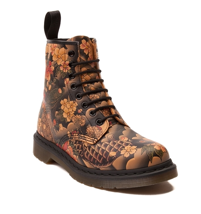 Dr Martens Tattoo Design Boots Shoes Good Work Boots