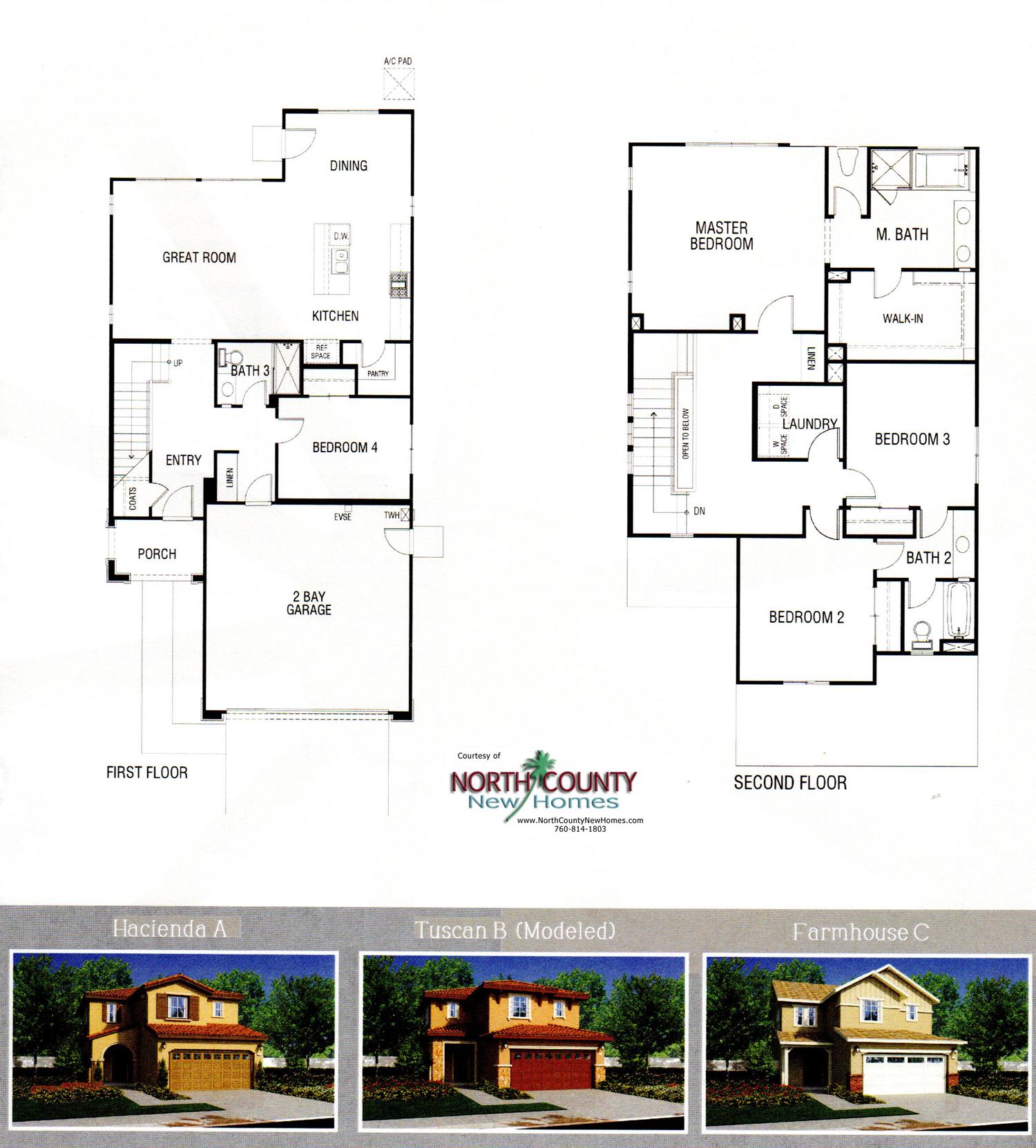 New Homes In Fallbrook, CA. Oakmont At Horse Creek Ridge