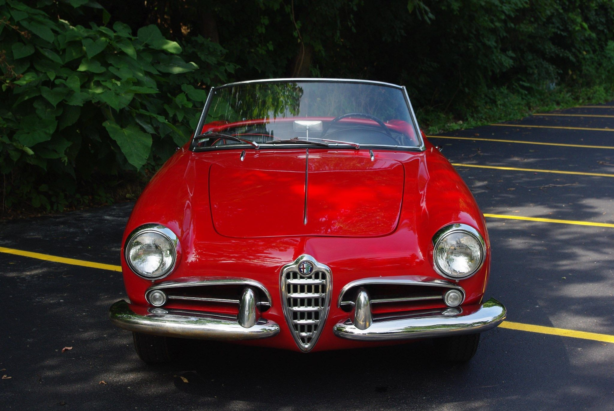 This 1957 Alfa Romeo Giulietta Spider 750d Was Acquired From The Son Rear End Of Original Owner A Couple Years Ago Has Been Kept Very