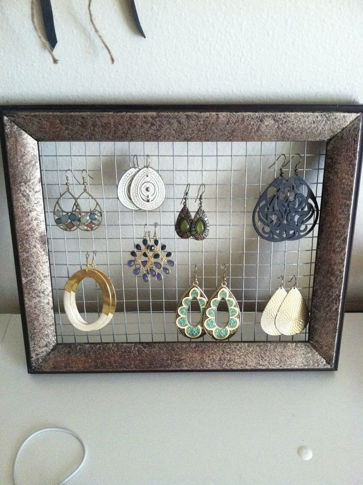 Do it yourself earring stand earring holder do it yourself do it yourself solutioingenieria Images